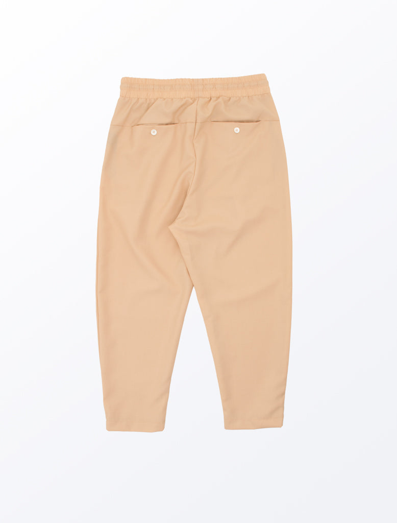 DDM CROPPED CARROT PANT BEIGE 2