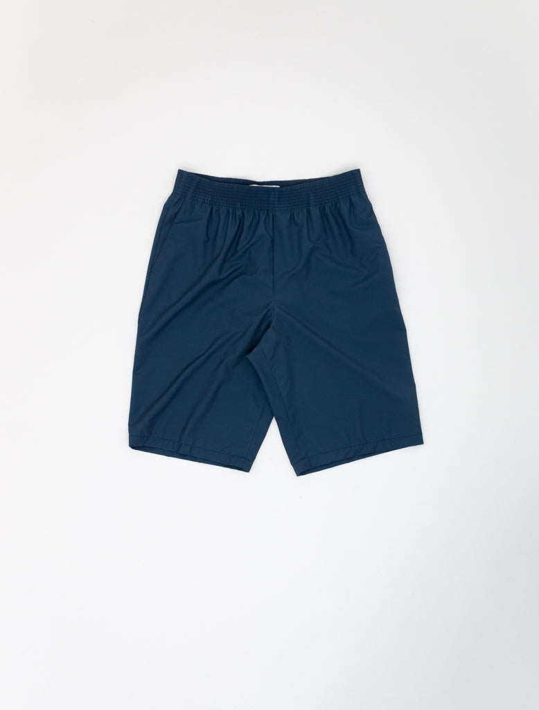 CELLAR DOOR ALFRED SHORTS WOOL NYLON BLUE 1
