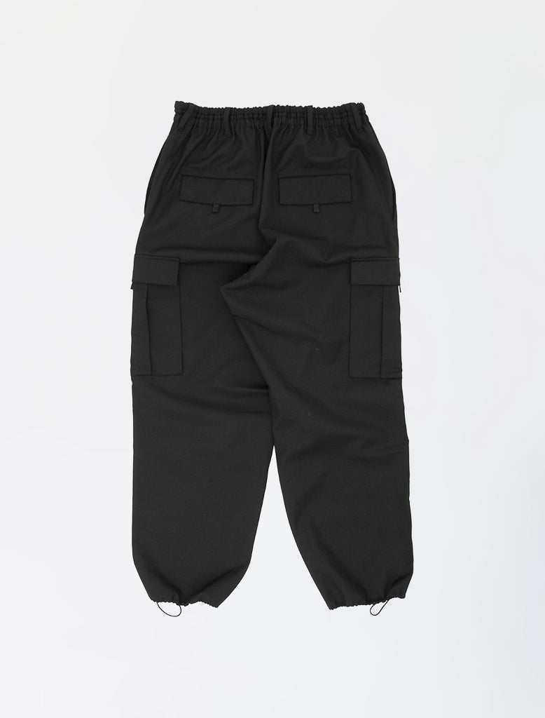 CLASSIC WINTER WOOL CARGO PANTS