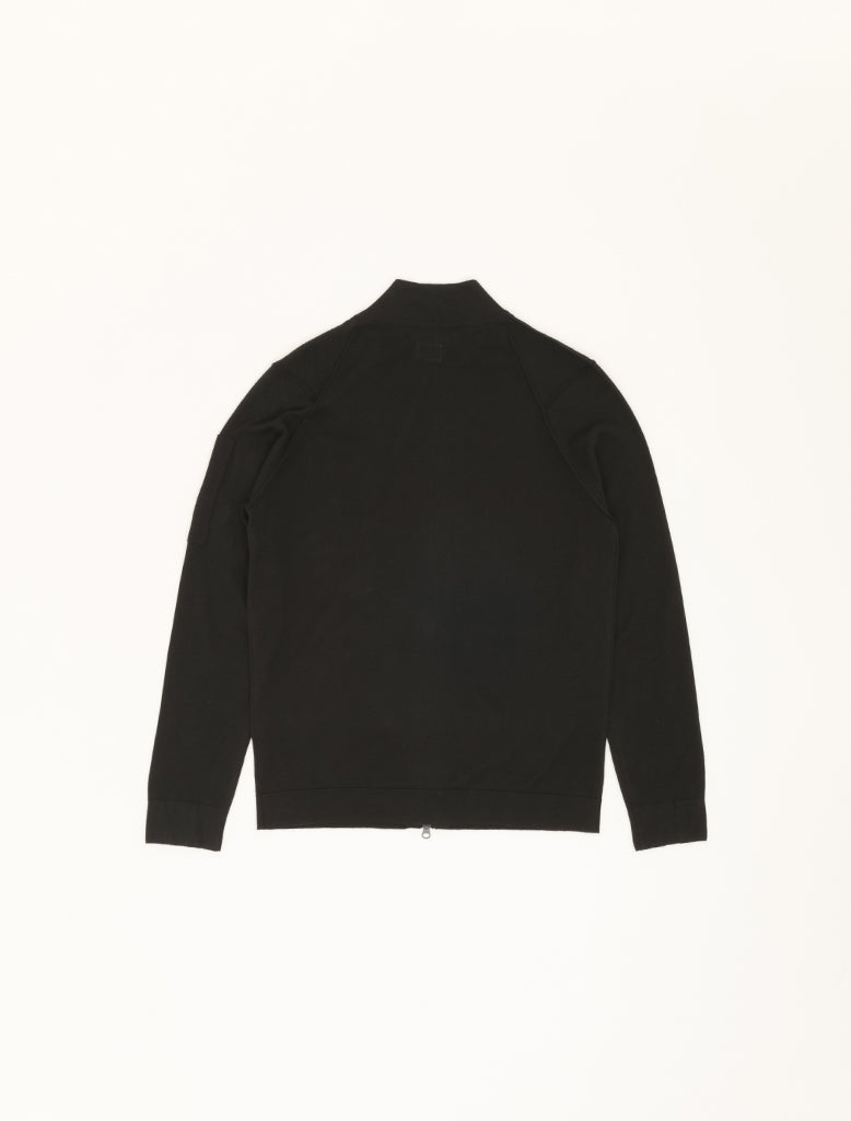 SEA ISLAND ZIPPED KNIT