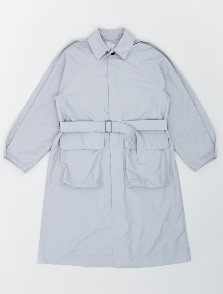 DEVEAUX UTILITY COAT LIGHT GREY 1