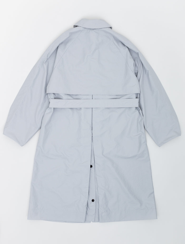 DEVEAUX UTILITY COAT LIGHT GREY 2