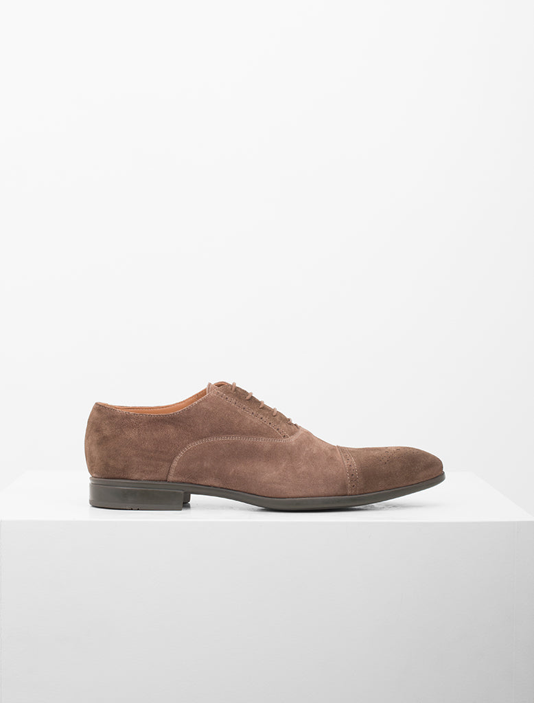 OXFORD SUEDE BROGUE