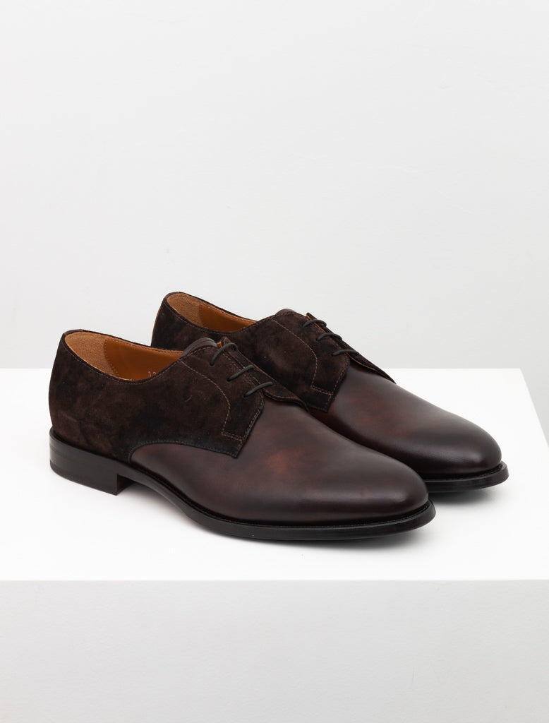 DOUCALS 2-TONE DERBY BROWN 2