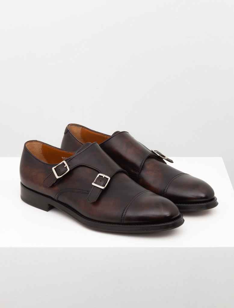 DOUCALS DOUBLE MONK DARK BROWN 2
