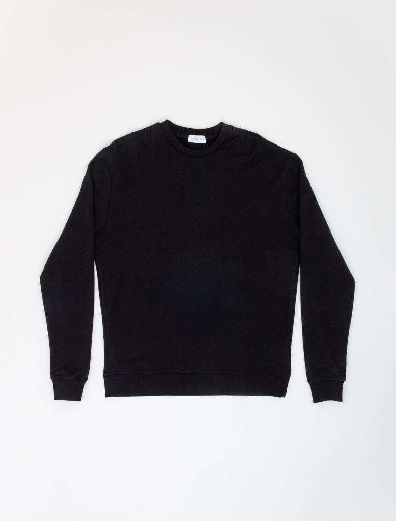JOHN ELLIOTT OVERSIZED CREWNECK BLACK 1