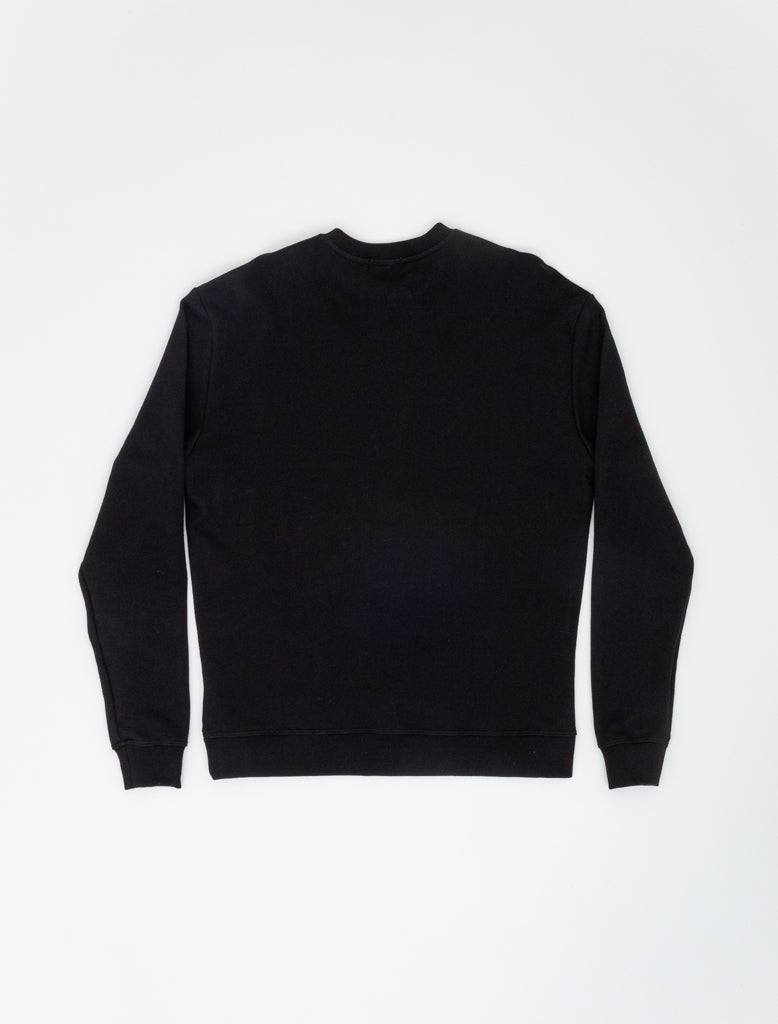 JOHN ELLIOTT OVERSIZED CREWNECK BLACK 2