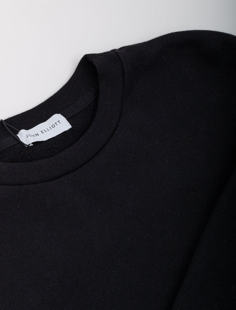 JOHN ELLIOTT OVERSIZED CREWNECK BLACK 3