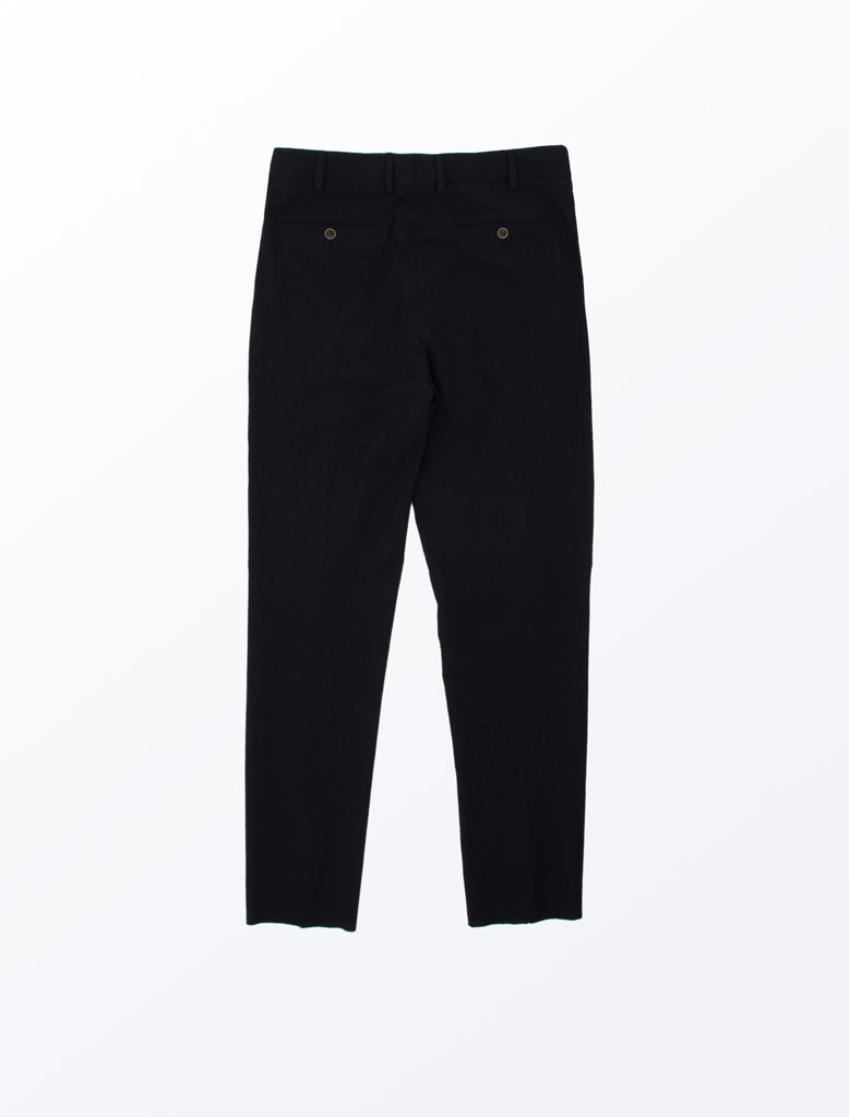 LARDINI TWIN PLEAT PANT NAVY 2