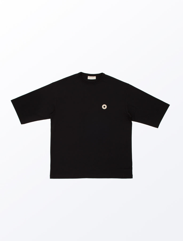DDM OVERSIZED T-SHIRT BLACK 1