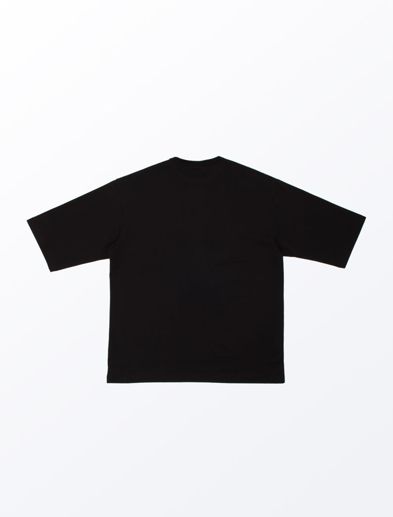 DDM OVERSIZED T-SHIRT BLACK 2