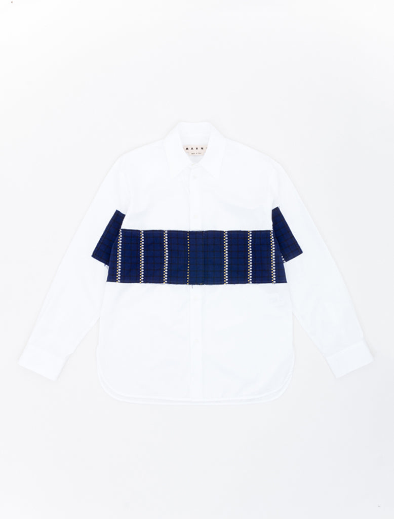 PATCHWORK PANEL SHIRT