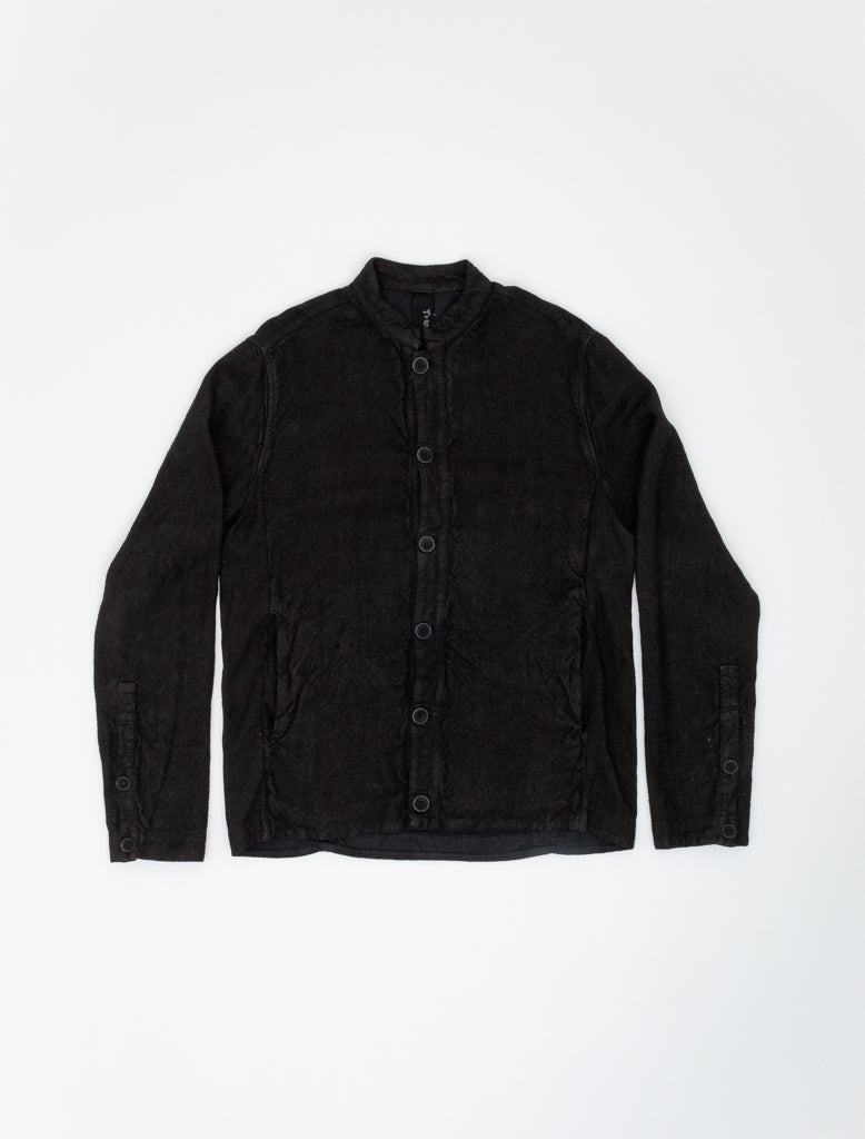 TRANSIT HEMP BOMBER JACKET BLACK 1