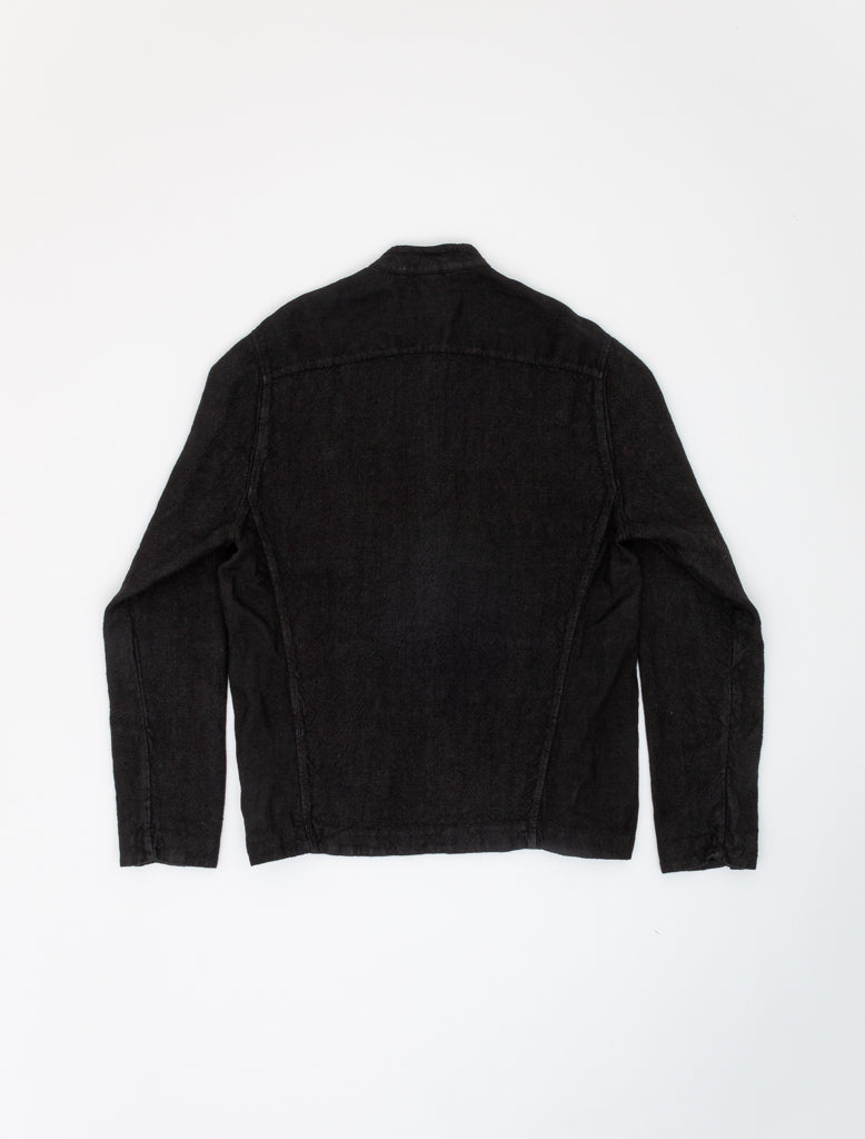 TRANSIT HEMP BOMBER JACKET BLACK 2