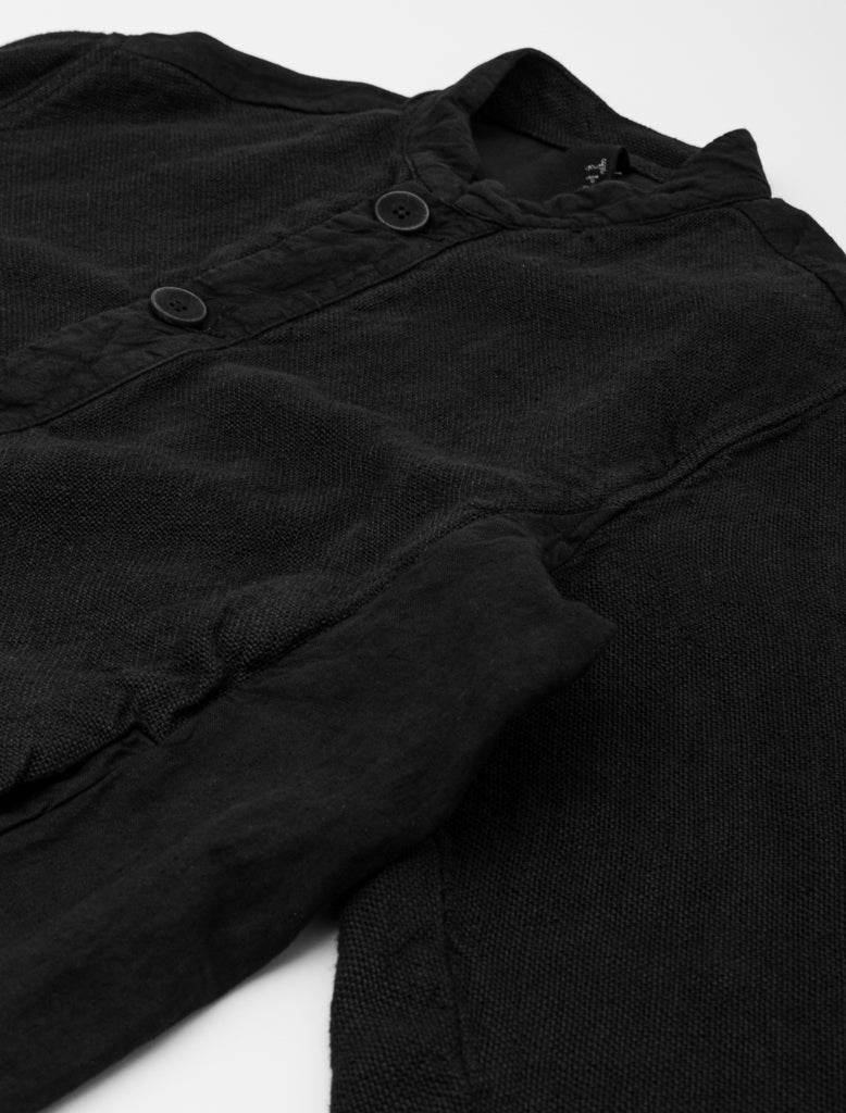 TRANSIT HEMP BOMBER JACKET BLACK 3
