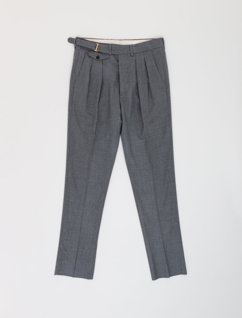 TWIN PLEAT TROUSER