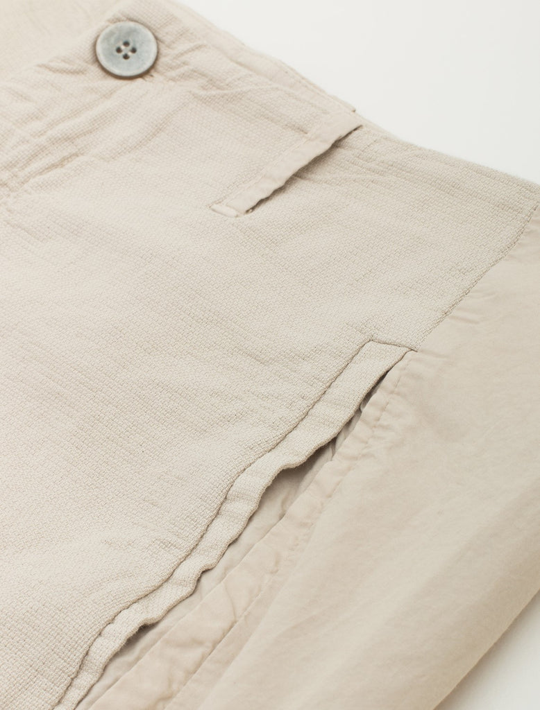 TEXTURED COTTON TROUSER