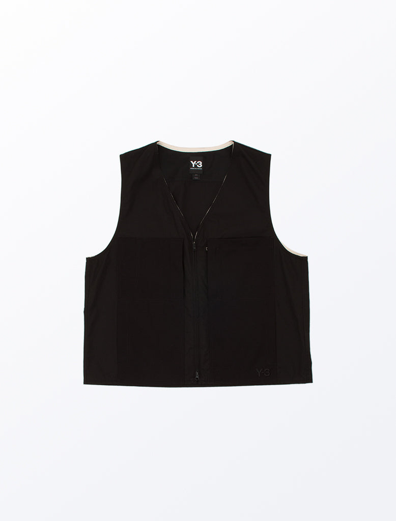 HEAVY POPLIN WORKWEAR VEST