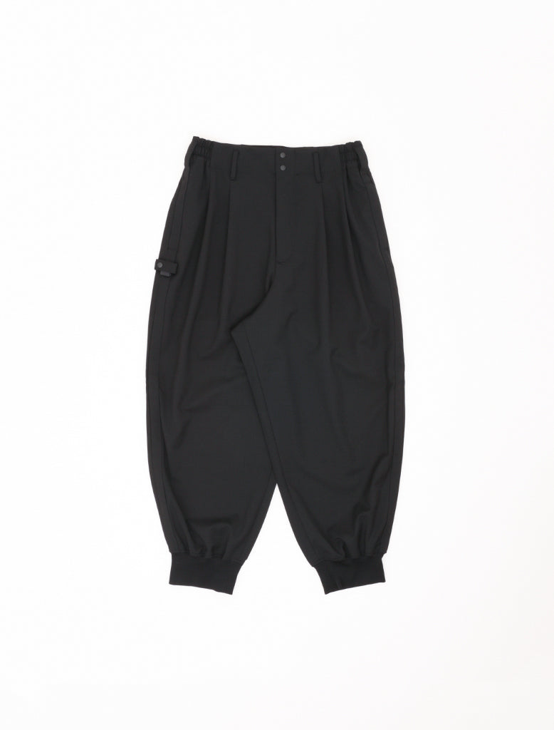 CLASSIC REFINED WOOL CUFF PANTS