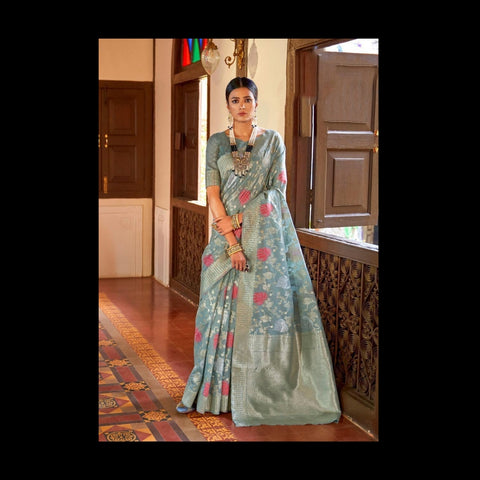 Designer Handloom Weavin Silk Saree Collection