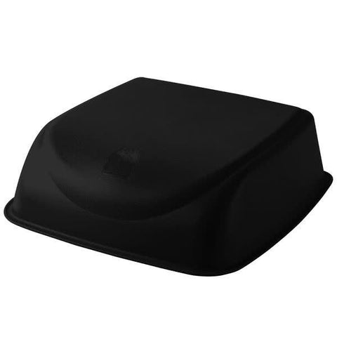 Black Plastic Cinema Seat