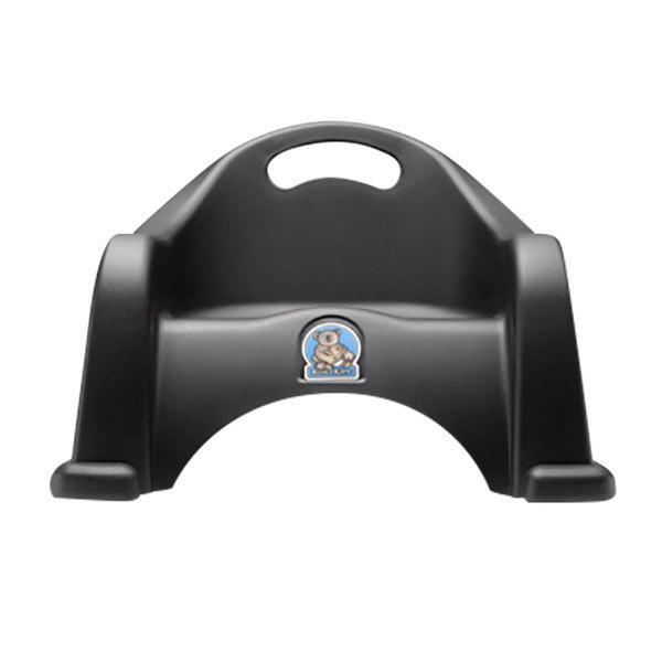 Black Plastic Booster Seat - 2/Pack