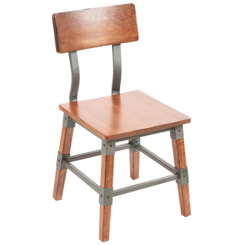 Rustic Industrial Dining Side Chair