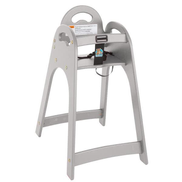 Designer High Chair - Gray