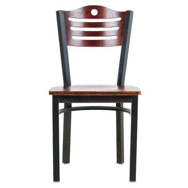 Mahogany Finish Bistro Dining Chair