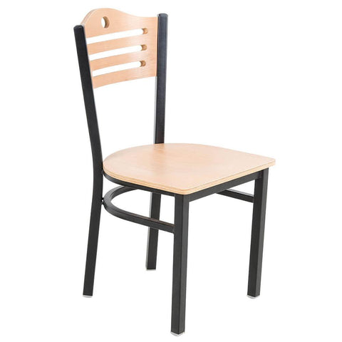 Natural Finish Bistro Dining Chair