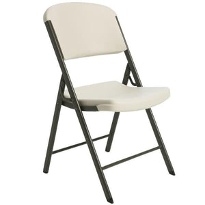 Almond Contoured Folding Chair