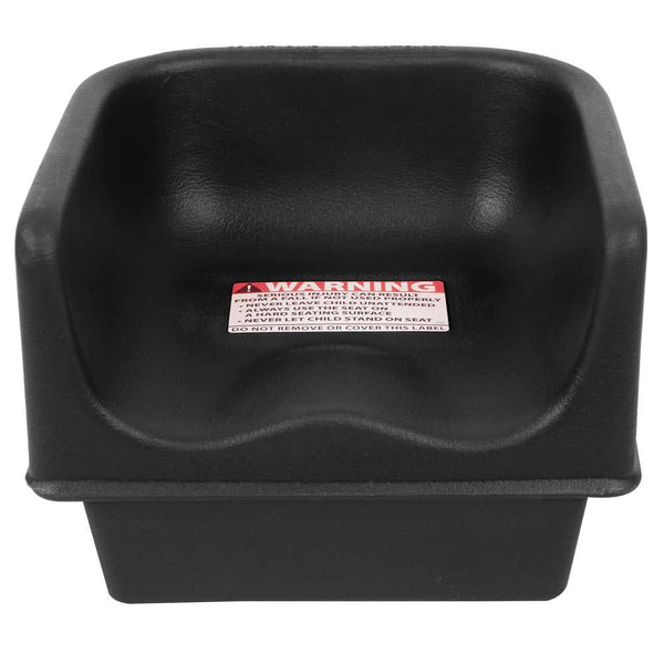 Black Plastic Booster Seat - Single Height