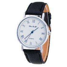 Womens designer watches luxury watch Brand Female Fashion Temperament Leather Belt With Simulated Quartz Round Watch bracelet