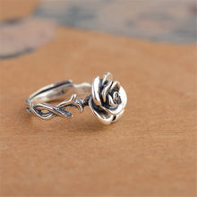 Fashiontwins Vintage Rose Rings - 100%  925 Sterling Silver
