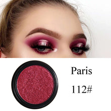 PHOERA Glitter Shimmering Colors Eyeshadow Metallic Eye Cosmetic