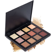 Cosmetic Matte Eyeshadow Cream Eye Shadow Makeup Palette Shimmer Set 12 Color