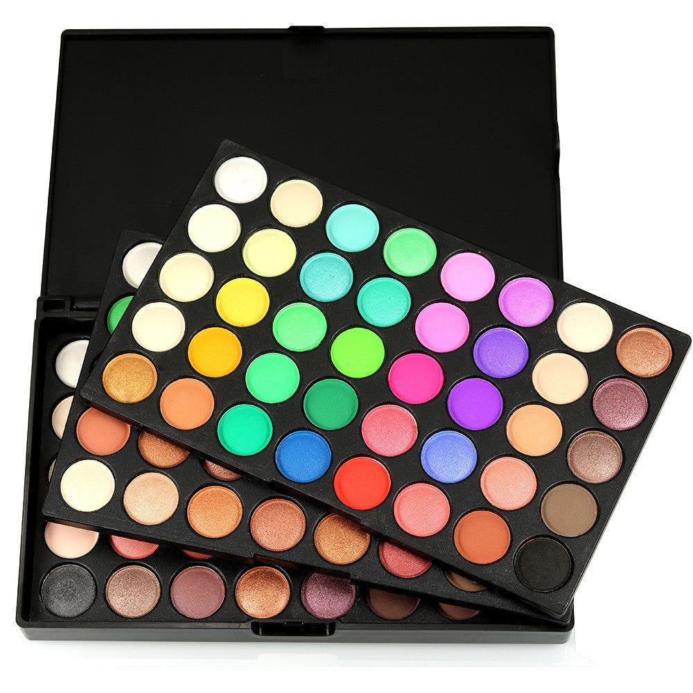 120 Colors Cosmetic Powder Eyeshadow Palette Makeup Set Matt Available