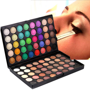 Cosmetic Matte Eyeshadow Cream Makeup Palette Shimmer Set 80 Color
