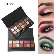 14 Color Pearl Glitter Eye Shadow Powder Palette Matt Eyeshadow Cosmetic Makeup