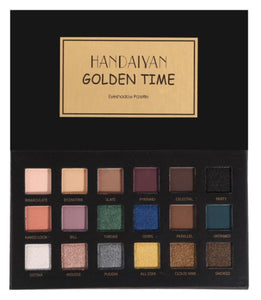 HANDAIYAN 18 Colors Eye Shadow Makeup Pearl Metallic Eyeshadow Palette Makeup