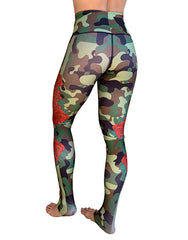 Camo-Roses Leggings