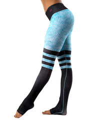 Celest Blue Sock Leggings