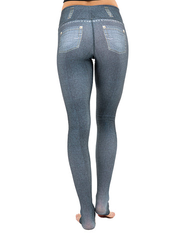 Denim Gray Leggings