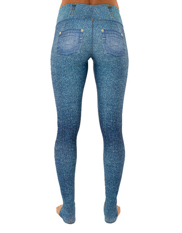Summer Denim Leggings