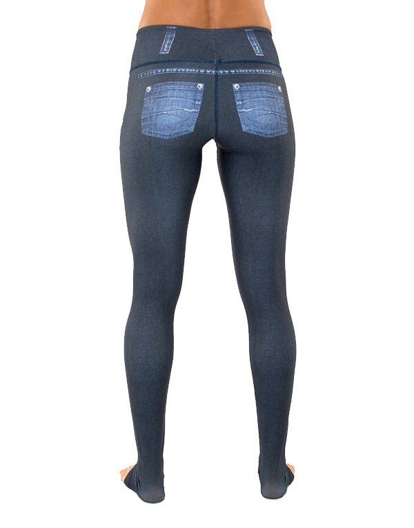 Sassy Dark Blue Leggings