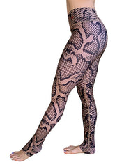 Tan Snake Leggings