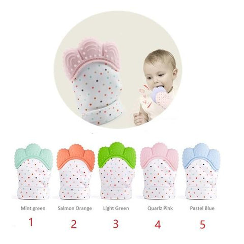 Baby Teething Pacifier Glove