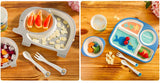 Adorable Bamboo 5pc Dinnerware Set