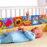 Dual Purpose Crib Bumper and Cloth Baby Book