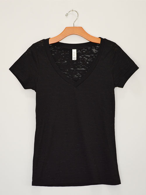 Burnout V-Neck Tee